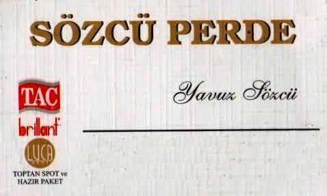 Sözcu Perde
